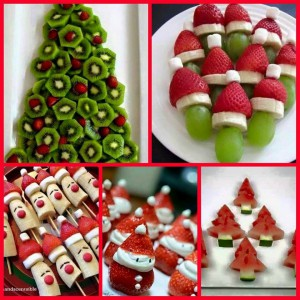 Gezonde kersthapjes