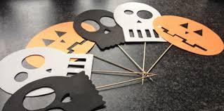 Halloween 2016 creatief confetti for Halloween versiering maken